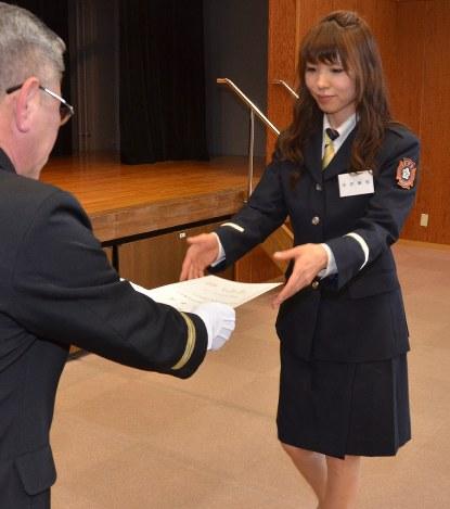 女性消防隊:松浦市に発足 欠員対策12人参加 「経験積み地域に ...
