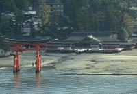 世界文化遺産・厳島神社(1996年登録)