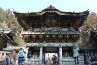 世界文化遺産・日光の社寺(1999年登録) 写真は日光東照宮