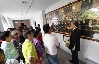 総統府の見学コースは、日本や中国からの観光客に人気が高い=2016年5月4日、鈴木玲子撮影