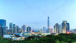 中国・深圳の街並み