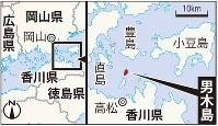 男木島の地図