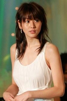 長澤まさみさん=日本アカデミー賞授賞式で2006年3月3日、山田俊介撮影