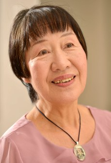 Toshiko Tanaka speaks her thoughts about Obama's planned speech in Hiroshima. (Mainichi)
