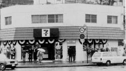東京都江東区豊洲に1974年に開店したセブン-イレブン1号店(同社提供)