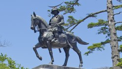 伊達政宗公騎馬像=仙台観光国際協会提供