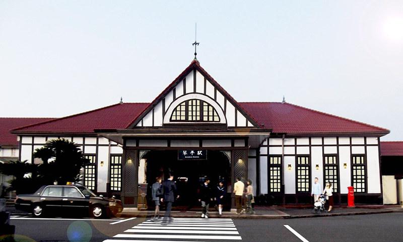 復元工事 - JR琴平駅