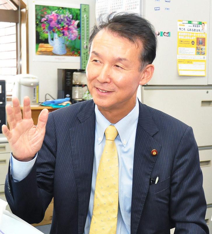 2016参院選:各党に聞く/2 民進党 岸本周平・県連代表 /和歌山 ...