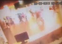 アタチュルク国際空港の防犯カメラの映像