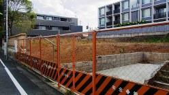 住民の反対署名活動も行われた保育園予定地=東京都世田谷区玉川田園調布で、小松やしほ撮影