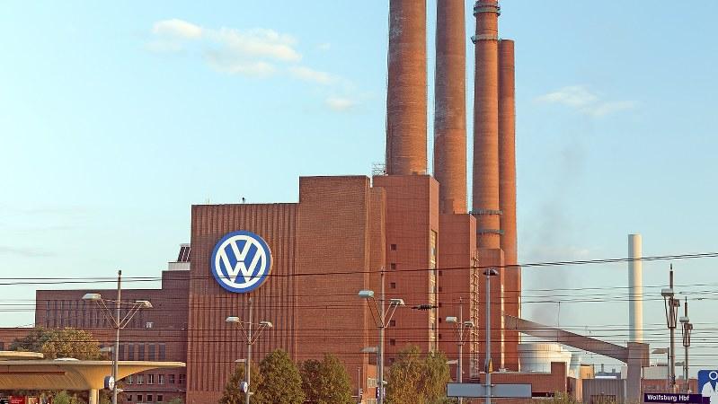 独ウォルフスブルクにあるフォルクスワーゲンの工場=2015年9月26日撮影