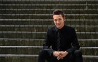 歌舞伎役者の中村獅童さん=東京都練馬区で2016年7月1日、竹内幹撮影