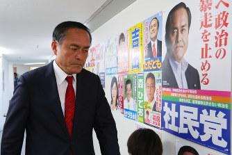 参院選:社民・吉田党首「何とか...