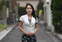 ジャーナリストの堤未果さん=東京都渋谷区で竹内幹撮影