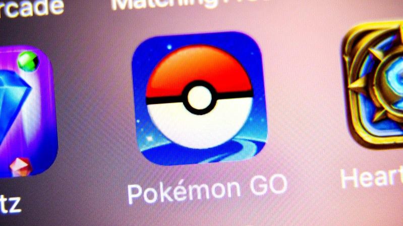 ポケモンGOのアプリ