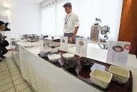 食事提供施設=リオデジャネイロ市内で2016年7月29日、山本晋撮影