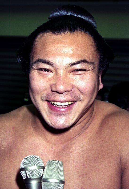 千代の富士の笑顔