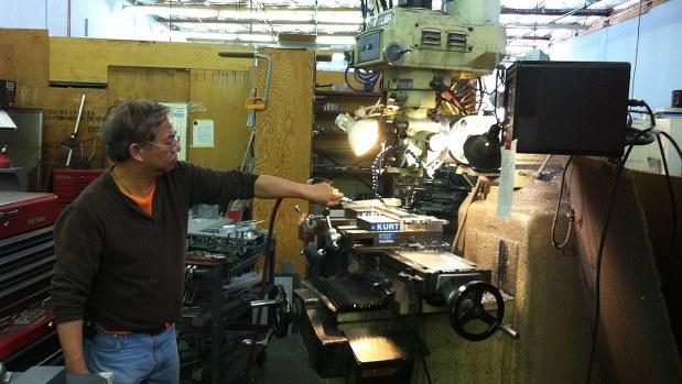 米シリコンバレーの町工場=遠藤吉紀撮影