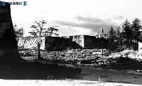 終戦直後の名古屋城の焼け跡=1945(昭和20)年