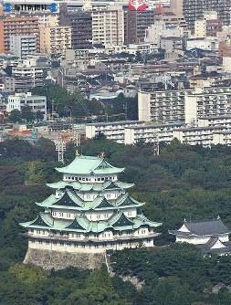 名古屋城遠景 =2007(平成19)年10月30日