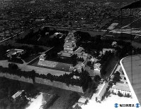 名古屋城は昭和20年5月14日のB29の爆撃で焼失=1928年9月撮影