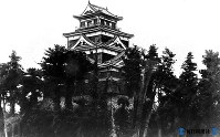 原爆で失われた広島城天守閣