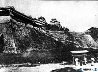 明治・西南役前の熊本城=1872年撮影