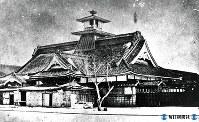 明治初年の函館、五稜郭=1868年撮影