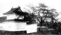 大垣市・大垣城(昭和20年7月戦災で焼失)=1933年9月撮影
