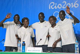 難民選手団5選手会見 南スーダンの戦火逃れ関連記事アクセスランキング