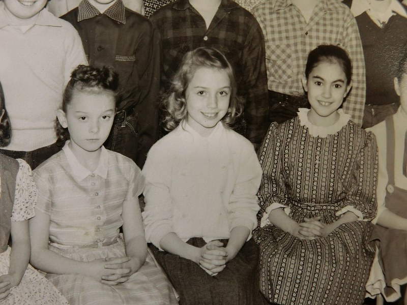 Hillary Clinton Center Is Pictured With Elementary School Clmates In This 1957 Photo Provided By Ernest Ricketts