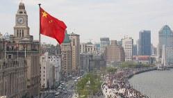 中国の発展を象徴する上海の街並み
