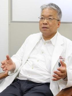 こころの医療センター・妹尾栄一副院長