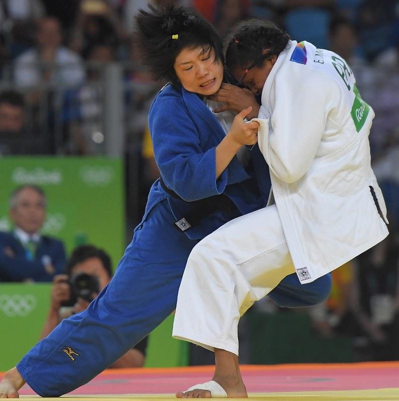 リオ五輪 柔道女子52キロ級:中...