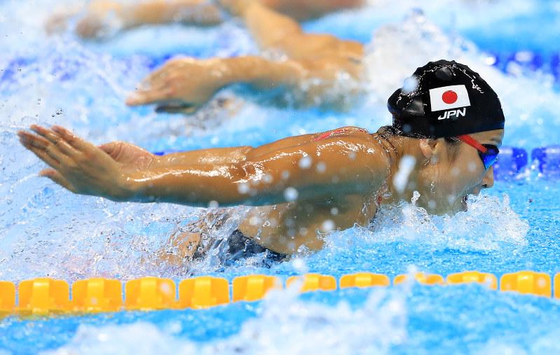 リオ五輪 競泳女子100mバタフラ...