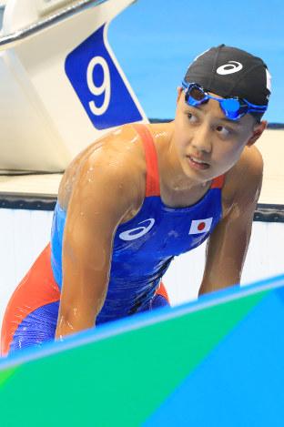 五輪競泳:悔し涙でいっぱい 決...