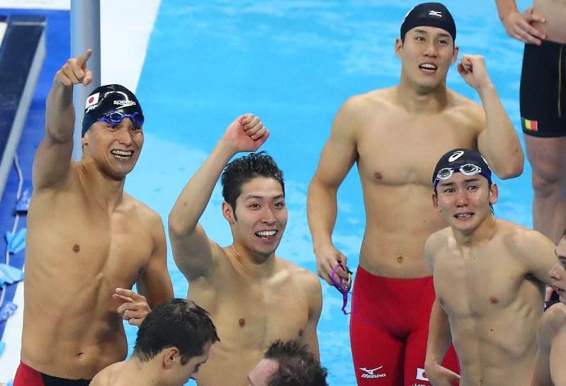 RIO・リオ五輪:競泳日本 800リ...