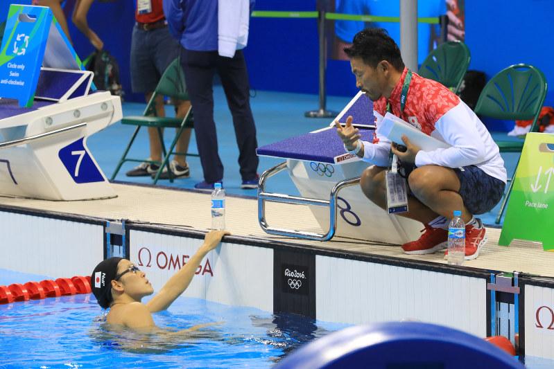 RIO・リオ五輪:競泳 信じてよか...