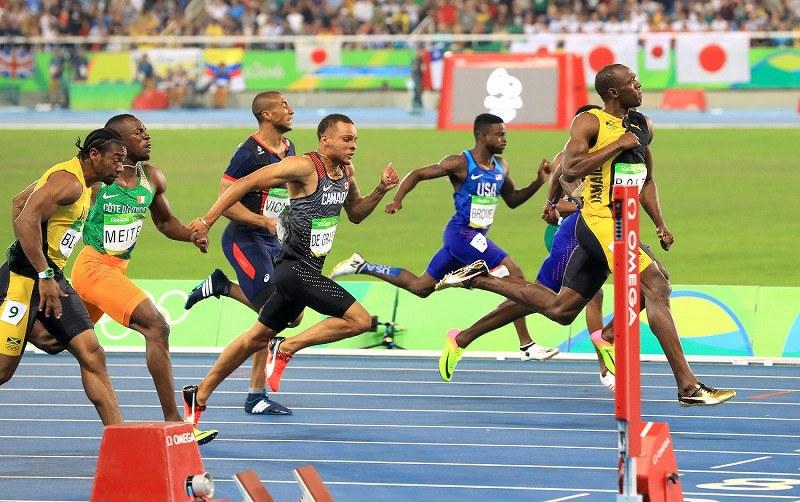 リオ五輪 陸上男子100m決勝:ボ...