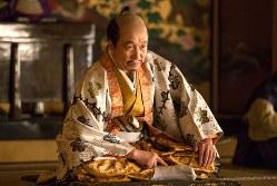 大河ドラマ「真田丸」で小日向文世さんが演じた豊臣秀吉=NHK提供