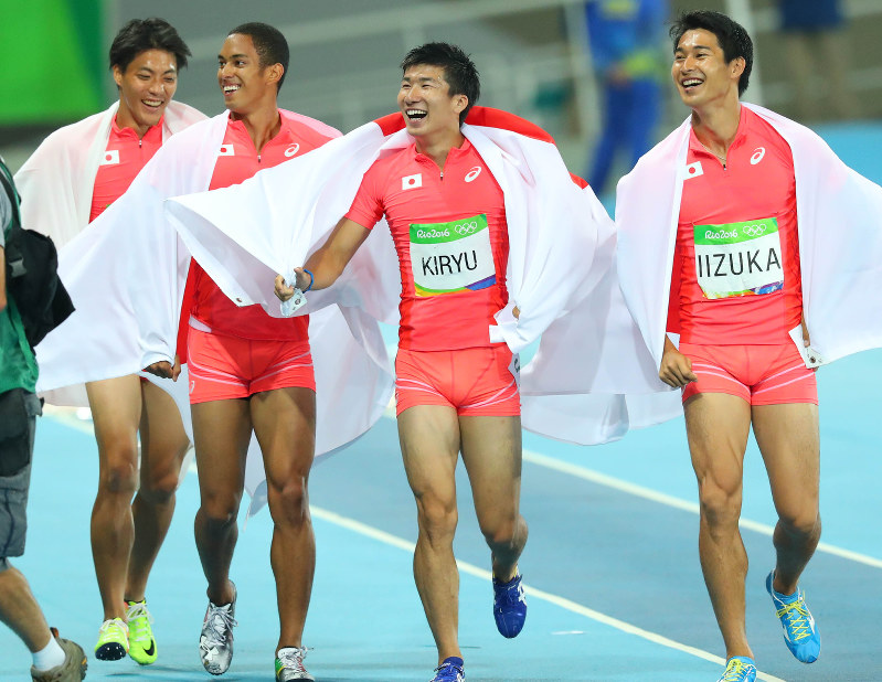 Precise Japanese runners evolving skills lead to Olympic silver