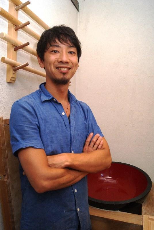 店主の原田和彰さん
