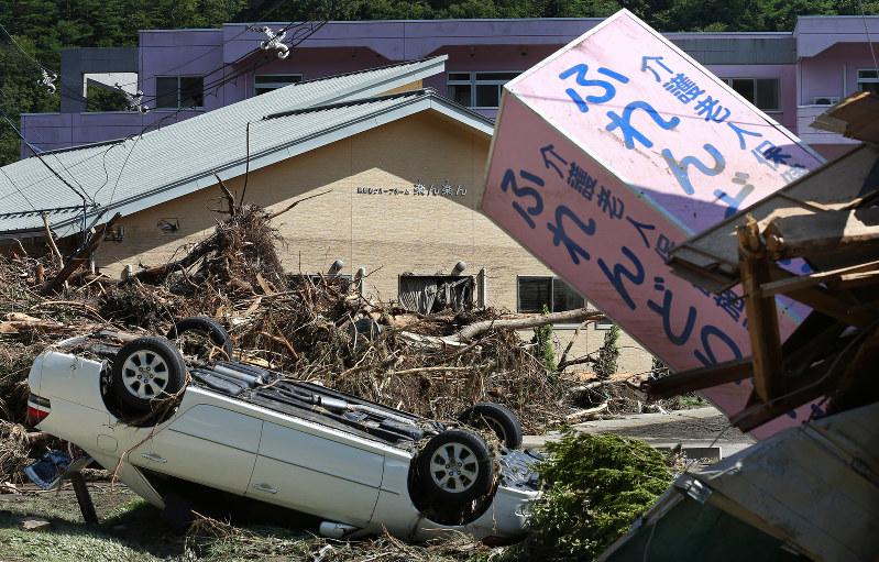 台風10号:被害 9人死亡の施設、...