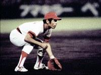 広島カープが初の日本一 山本浩二と並ぶカープの顔、衣笠祥雄=1979年9月撮影