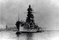 戦艦・日向=1927年撮影