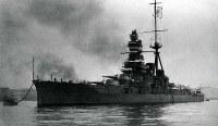 戦艦・霧島=1930年10月撮影