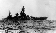 戦艦・山城=1935年5月撮影