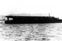 空母・加賀=1930年10月撮影