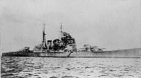 巡洋艦・高雄=1935年撮影