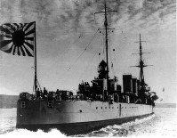巡洋艦・天龍=1933年撮影